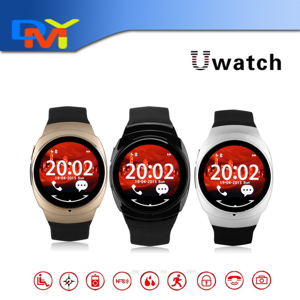 Bluetooth Smart Watch Wrist Watches For IOS Android Living Waterproof UO U Watch Support Hands Free Remote Control NFC 2015 New(China (Mainland))