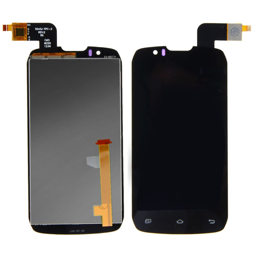 New Black LCD Display + Digitizer Touch Screen Assembly Replacement For Highscreen Boost  VAH01  T15