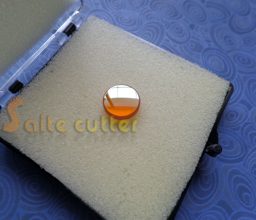 "K40 Co2 Laser Rubber Stamp Engraver Engraving Machine Dia 12mm Znse Focusing Lens Focus Focal Length 50.8mm 2"" 3020 3040(China (Mainland))"