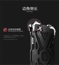 For iphone6S shell Original Design Cool Metal Aluminum Armor protect phone cover case for iphone 6s 6 6s plus phone housing