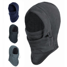 Hot Sale Thermal Fleece Balaclava Hood Police Swat Ski Bike Wind Winter Stopper Face Mask snowboard solomon shoes men
