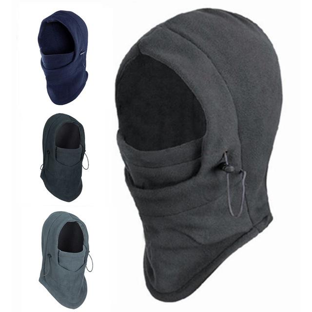 Hot Sale Thermal Fleece Balaclava Hood Police Swat Ski Bike Wind Winter Stopper Face Mask snowboard solomon shoes men(China (Mainland))