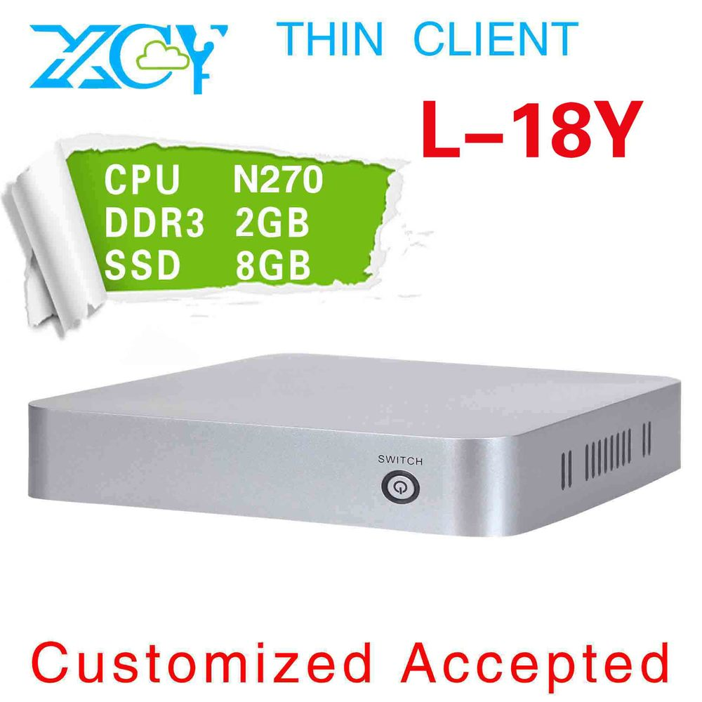 Promotion!! XCY L-18Y mini linux computers support wireless network 1.6GHZ thin computer(China (Mainland))