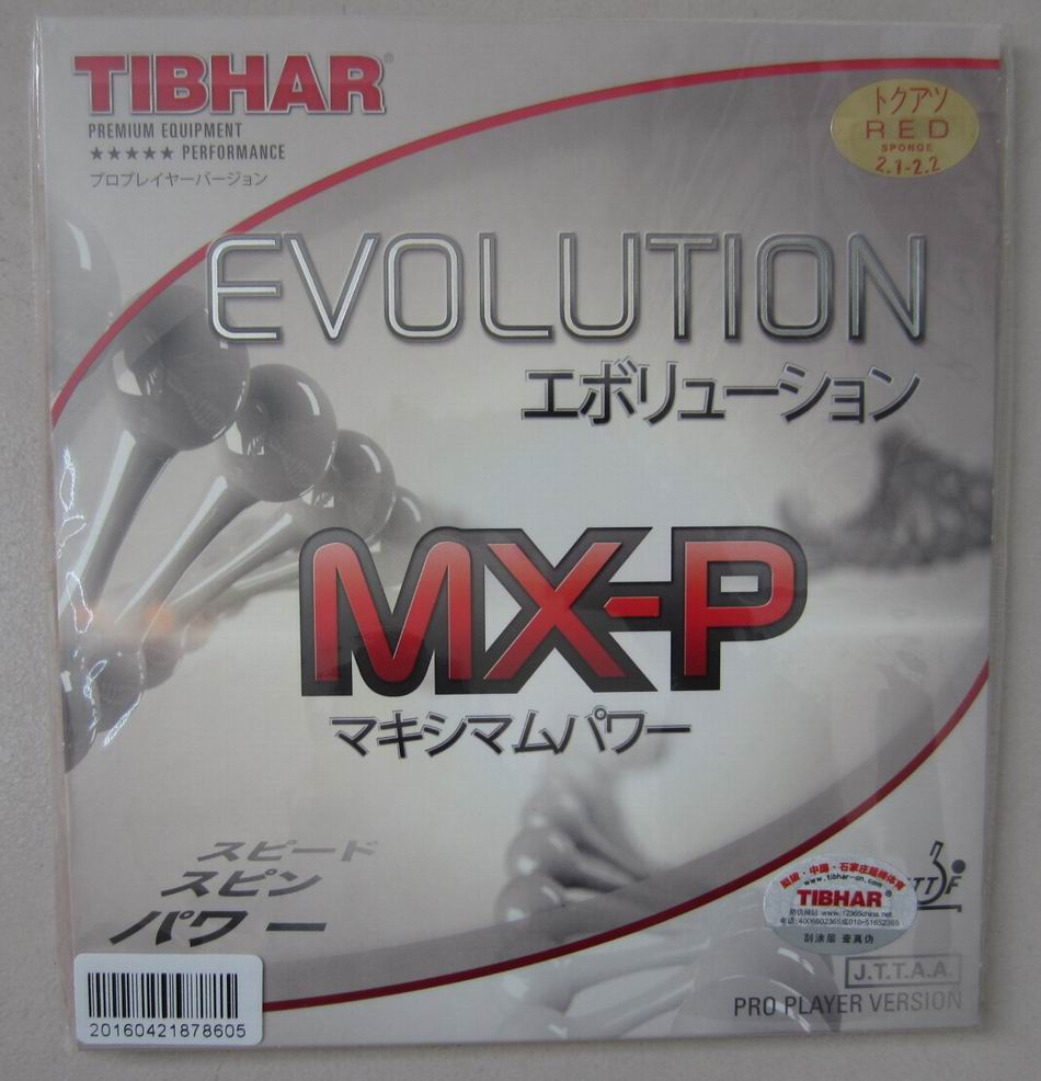 Origianl Tibhar table tennis rubber EVOLUTION MX-P for table tennis rackets blade fast attack loop ping pong rubber(China (Mainland))