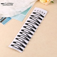 12pcs one set Baby Girl Hair Clips Hairpins Accessories Women Black Hairgrip Barrettes Head Hairpins Colorful(China (Mainland))