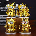 New arrival Despicable Me Minions cosplay gold Saint Seiya Action Figures Minion Model Toys best gift
