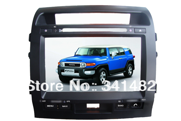 9 inch Special Car DVD Player Built-in GPS Bluetooth LAND CRUISER LC200 2004-2011 TV Radio - Shenzhen TomTop E-commerce Technology Co., Ltd. store
