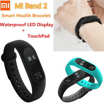 In Stock For Xiaomi Band 2 Smart Bracelet Heart Rate Monitor For Xiaomi Miband 2  xiaomi m iband 2 With Touch Display mi band 2