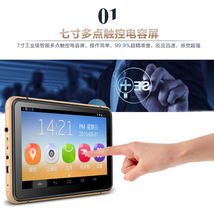 Android car gps navigation 7 inch wifi gps navigator tablet WIFI AVIN bluetooth Camera DVR HD 800×480 512M/8GB