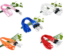 "Free shipping-20Pcs Mixed 5 Colors Neck Strap Lanyard ID Card Mobile Phone Lanyard for CellPhone Mp3 ID IPOD Camera 36"" M00866(China (Mainland))"