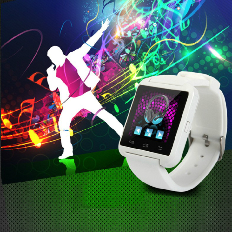 smart watches smartwatch U8 alarm clock for iPhone IOS 4 0