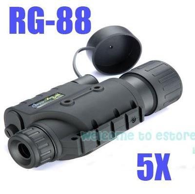 !Brand Infrared Dark Night Vision IR Monocular Binoculars Telescopes 200 Yards 5X - Shenzhen Blueskyocean Technology Co., Ltd. store
