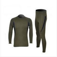 Free Shipping Military Men's Outdoor sports thermal underwear Hot-Dry technology surface(China (Mainland))
