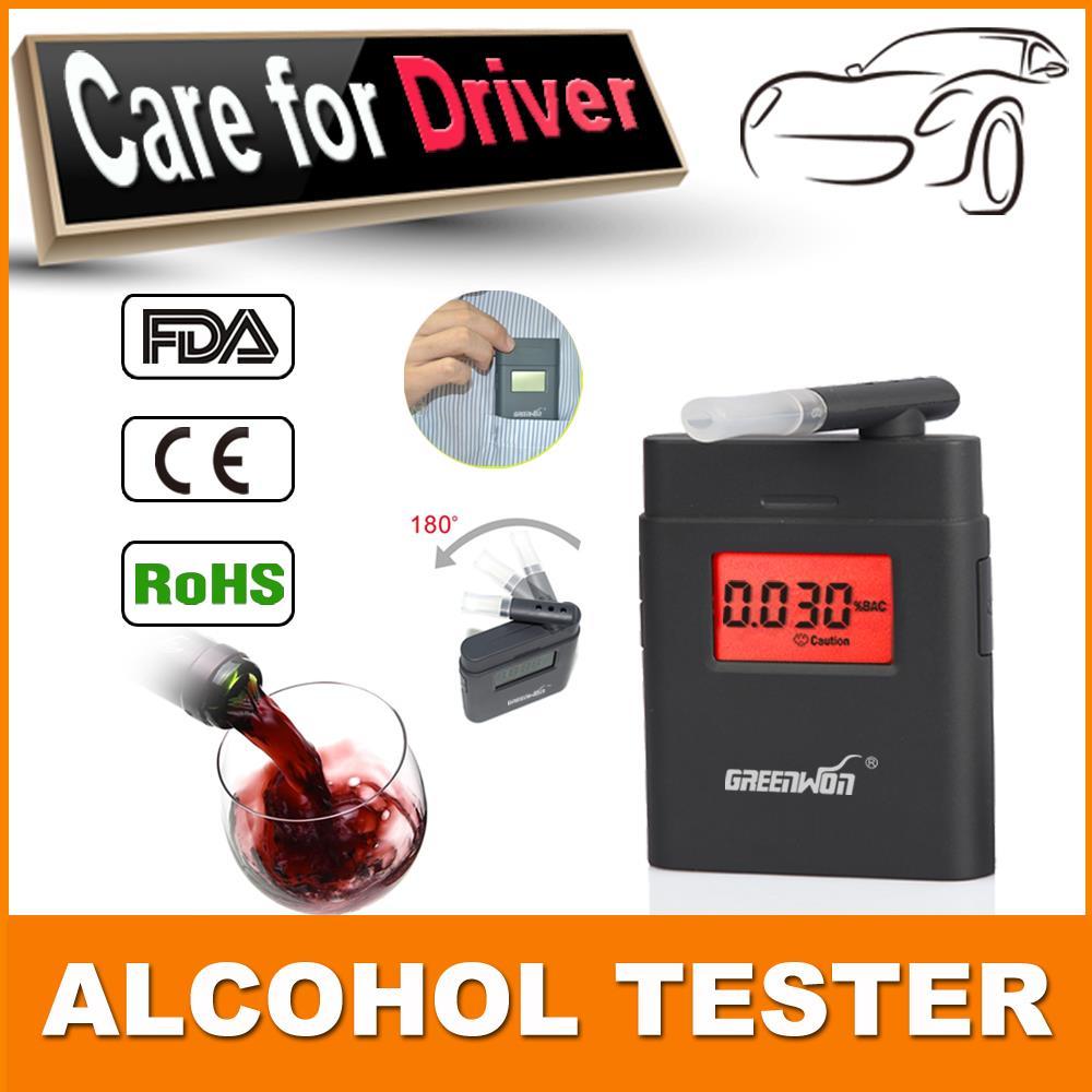 Гаджет  Prefessional Police Portable Breath Alcohol Analyzer Digital Breathalyzer Tester Body Alcoholicity Meter Alcohol Detection None Автомобили и Мотоциклы