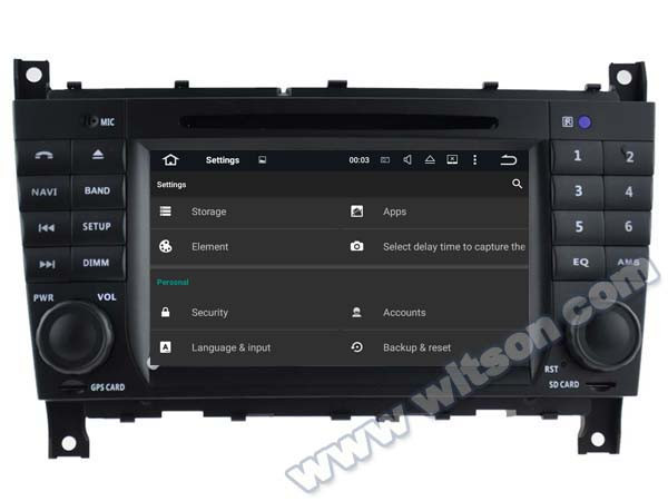 WITSON Android 5.1 Quad Core CAR DVD for MERCEDES BENZ C Class W203 CLC W203 G-Class W467 BENZ E CLASS 1024X600 HD+DVR/WIFI+16GB