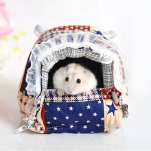 Promotion Small Animals Totoro Hamster Rabbit Cage Pet Products Cotton Pet Bed for Cats Dogs House High Quality Cheap(China (Mainland))