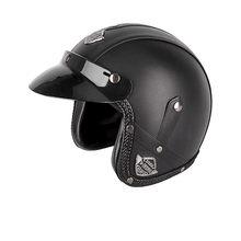 Nuevo casco de motocicleta Retro estilo alemán antiguo 3/4 máscara abierta Scooter Chopper Cruiser Biker casco de motocicleta gafas máscara(China)