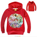 boys hoodies and sweatshirts girls pokemon go t shirts hooded clothing boys sweatshirt kids clothes girls
