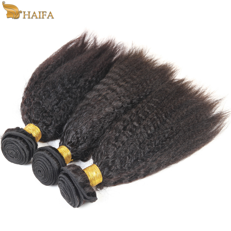 Cheap 6a virgin unprocessed malaysian kinky straight coarse hair 100% human hair weave bundles, yaki kinky straight hair weave