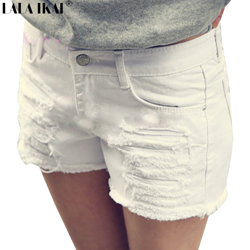 White Short Jeans | Bbg Clothing