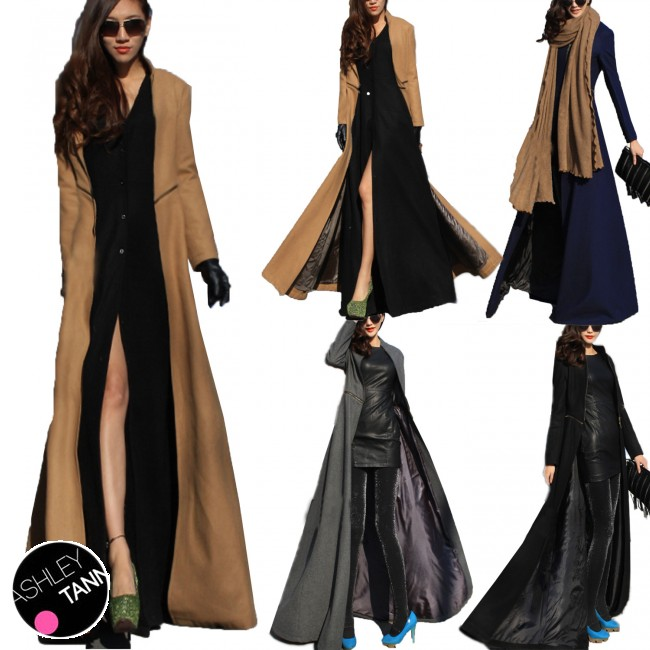 Ankle Length Winter Coat