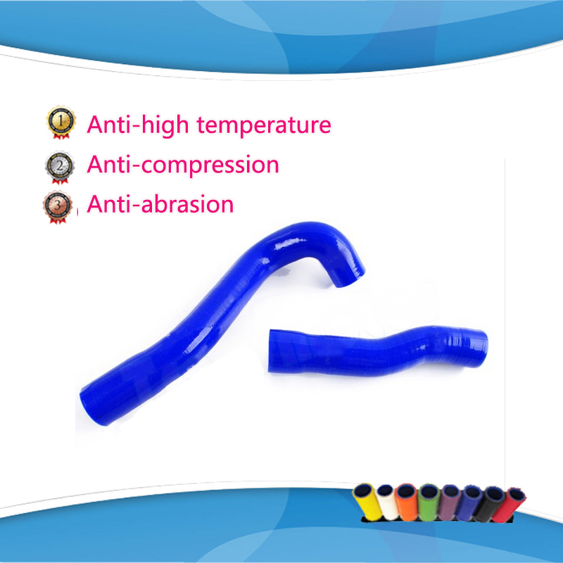 Силиконовые радиатор нагреватель шланг кит только для BMW E46 M3 / 330 / 328 / 325 6cy 1999 - 2006 синий красный balck