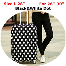 Elastic Luggage Protective Cover For 18 to 30 inch Trunk Case Waterproof Travel Suitcase Cover(China (Mainland))