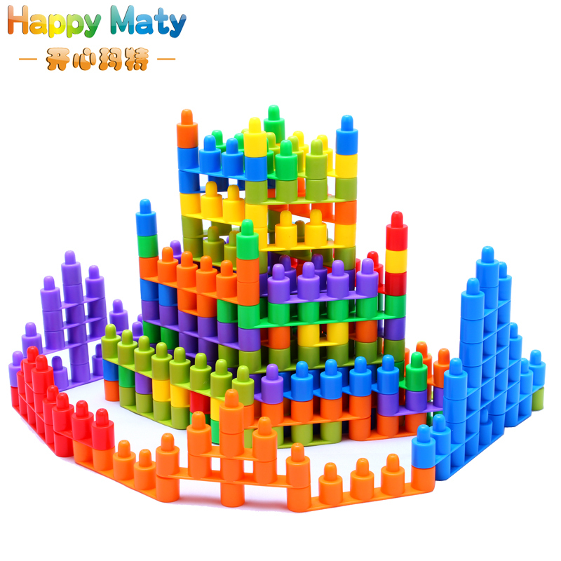 Building Toys For Babies : Plastic assembling bullet building blocks bricks toys baby