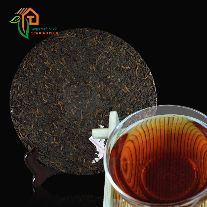 Puerh ripe tea bread 357g stale flavor Pu er Pu er Pu erh Pu er the