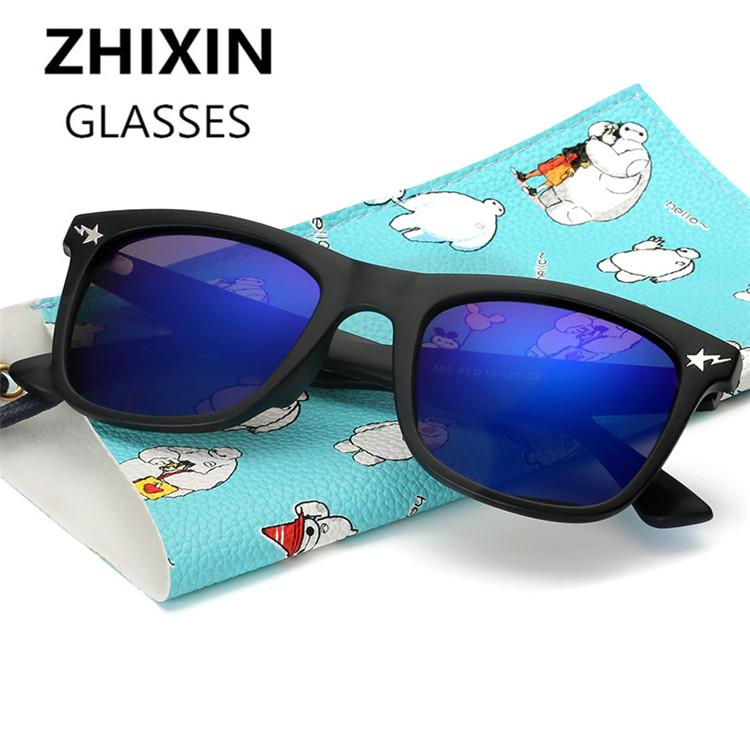 P552 Fashion Design PC Frame Unisex Polarized Sunglasses Kid Suitable for Boys and Girls(China (Mainland))