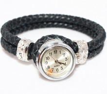 New Luxury Women Wristwatches Genuine Leather Women Dress Watches Fashion Casual Ladies Bracelet Quartz Watch HY9003(China (Mainland))