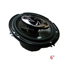High power 6″ coaxial car louder speaker ,hot sale quality car audio acoustic coaxial speakers,
