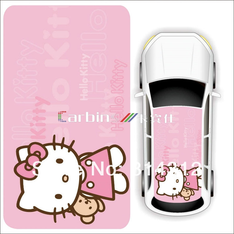 Aliexpress Com Buy Cartoon Design Car Mini Roof Adhesive