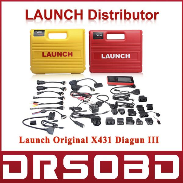 2015 wirless Bluetooth Car Diagnostic Tool Launch X431 Diagun III Global Version free Online update X-431 Diagun3(China (Mainland))