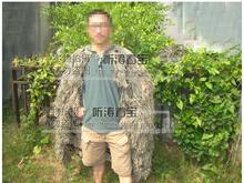Военная барлеп гилли костюме гилли пончо пустынный камуфляж охота CS военная игра фотографии airsoft пейнтбол