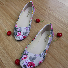 2016 New Women Ladies Ballerina Slipper Flat Shoes Round Toe Sweet Spring Autumn Casual Shoes Flats