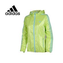 100% Original New 2015 Adidas women's Woven jacket AB3023/AB3024 Hoodie Sportswear free shipping