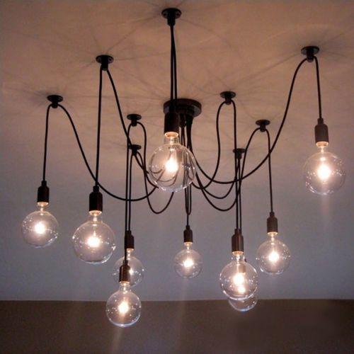 Edison Lamp Fixtures Lamp Light Fixtures E27