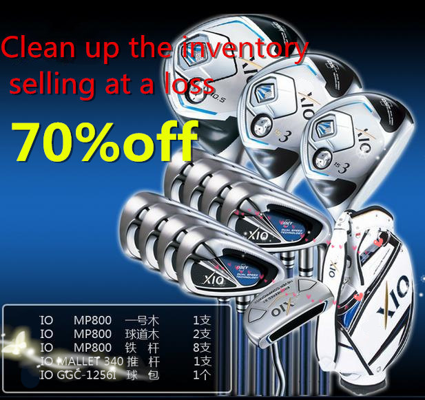 selling at a loss brand golf clubs men MP 800 full golf set graphite shaft with golf bag head covers free shipping ems limited(China (Mainland))