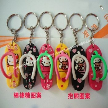 1GB 2010 new cute slippers USB disk,best Christmas gift, Free Shipping