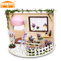 Handmade Doll Home Furnishings Miniatura Diy Doll Homes Miniature Dollhouse Picket Toys For Kids Grownups Birthday Reward 2808