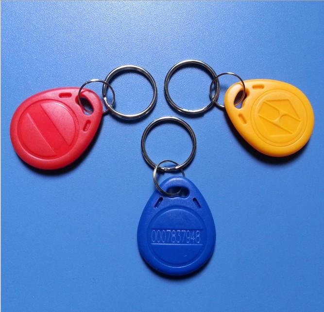 Гаджет  Writable 5Pcs Proximity ID Token Tag Key For 125Khz RFID EM4100 T5577 EM4305 None Безопасность и защита
