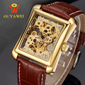 Gold Skeleton Kol Saati Automatic Mechanical Watch Original Top Brand OUYAWEI Luxury Men s Watch Sport