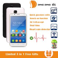 Dingding SK1 4 5 Unlocked Andriod 4 4 Smartphone Dual Core 3G WiFi Dual Sim Dual