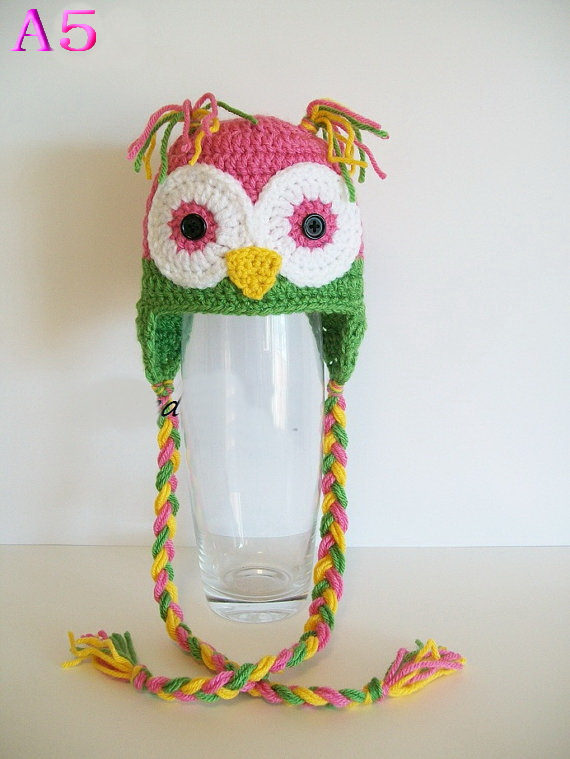 Free Crochet Owl Hat Pattern Toddler Pakbit For