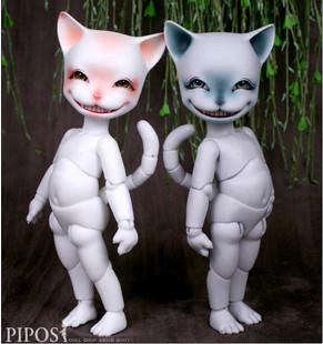 1/6 Bjd doll sd doll cat SD BJD doll(China (Mainland))