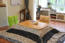 (4pcs/set)Japanese Kotatsu Set Table Futon Heater Luxury Living Room  Furniture Kotatsu