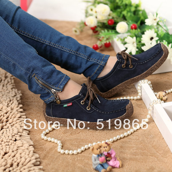 spring new casual shoes singles Peas flat Jurchen snail mother - Xia's store