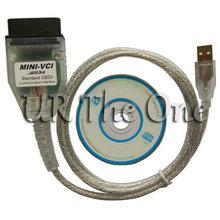 Original MINI VCI J2534 diagnostic interface Firmware 2.0.4  MINI VCI TIS Techstream V10.10.018 for Toyota Lexus Free Shipping(China (Mainland))