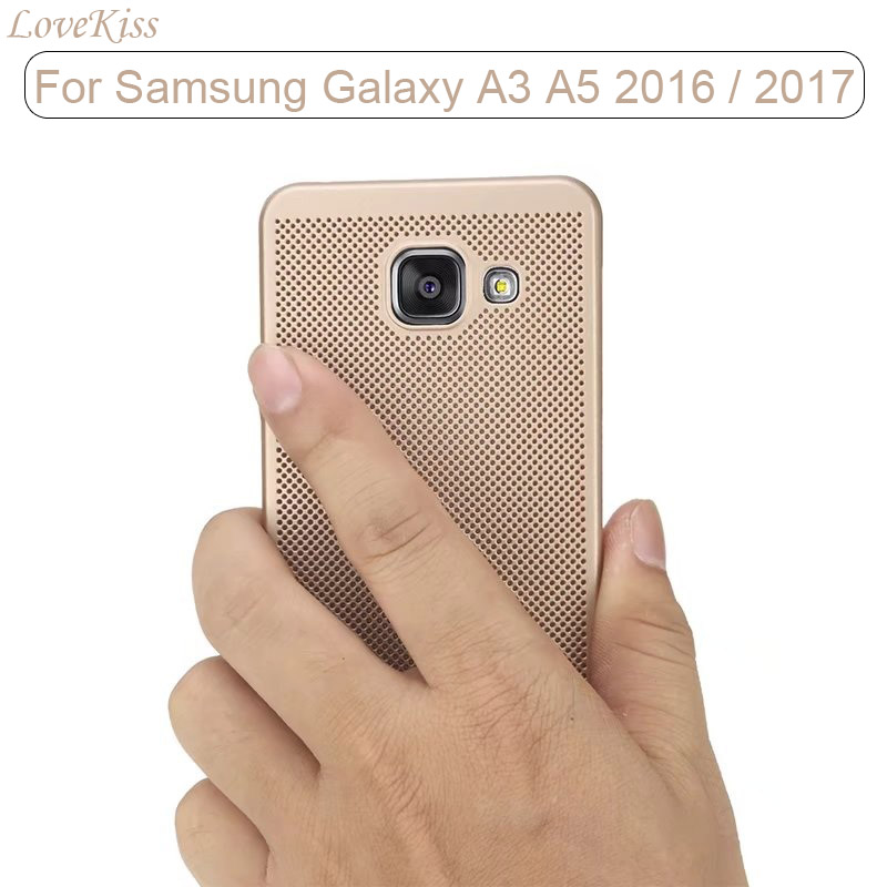 Tough Cellular Phone Cases For Samsung Galaxy A3 A5 A7 2016 A310 A510 A3 A5 2017 A320 A520 Case Matte Back Cover Shell Protector(China (Mainland))